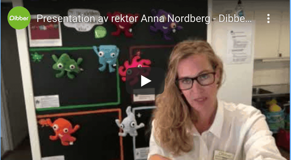 Rektor Anna berättar om Pilgårdens förskola