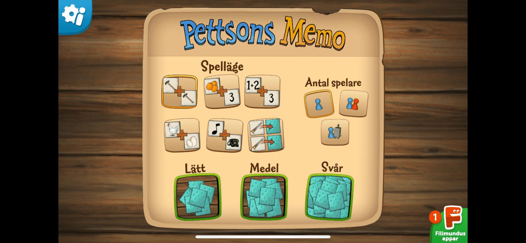Pettson memory